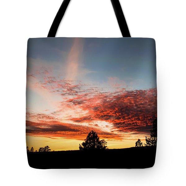 Stratocumulus Sunset Tote Bag
