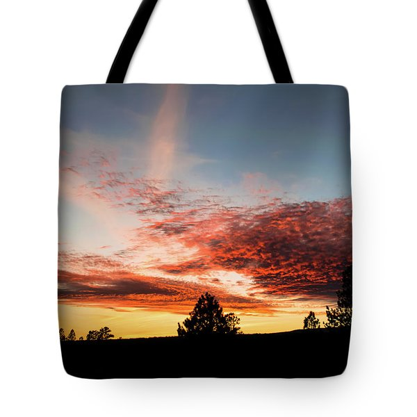 Stratocumulus Sunset Tote Bag by Jason Coward