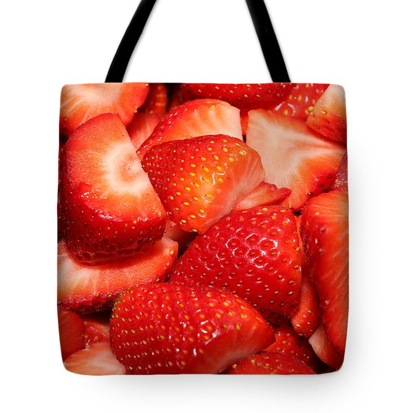 Strawberries 32 Tote Bag
