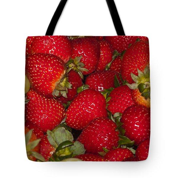 Strawberries 731 Tote Bag