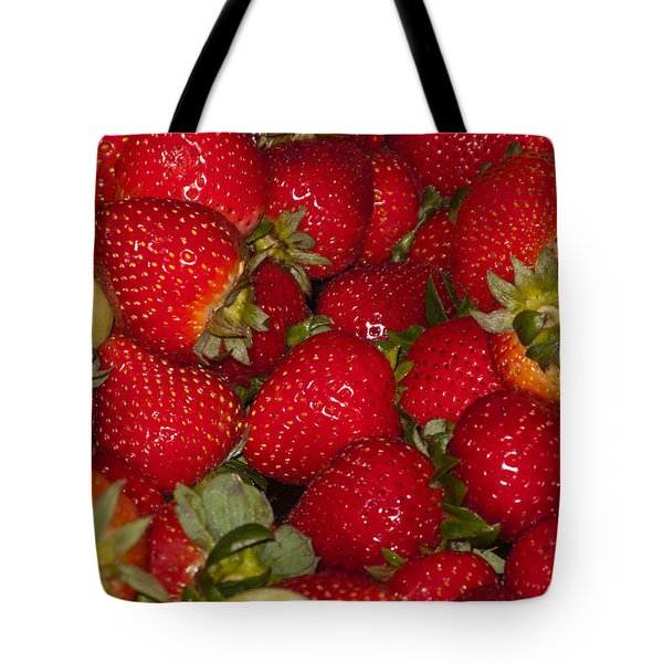 Strawberries 731 Tote Bag