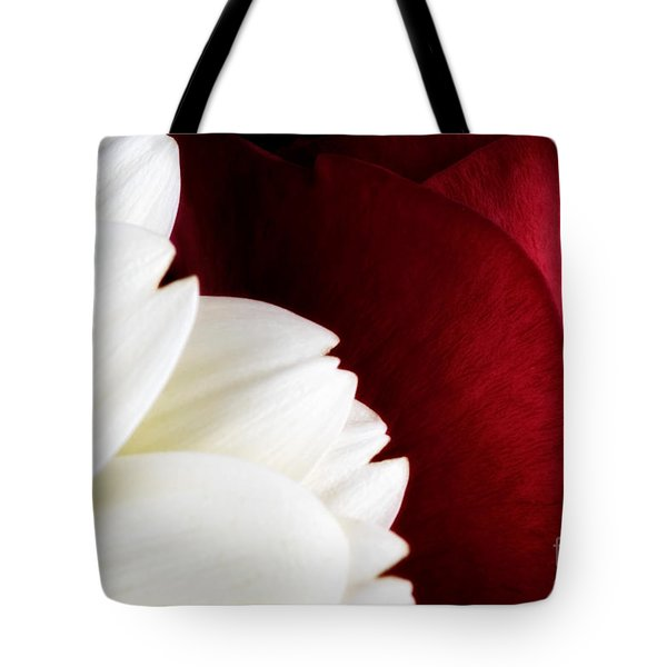 Strawberry And Cream Tote Bag by Mark Johnson