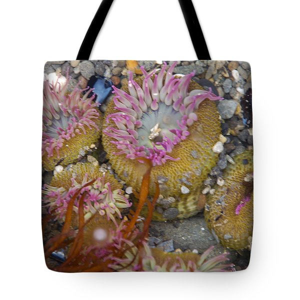 Strawberry Anemonies Tote Bag