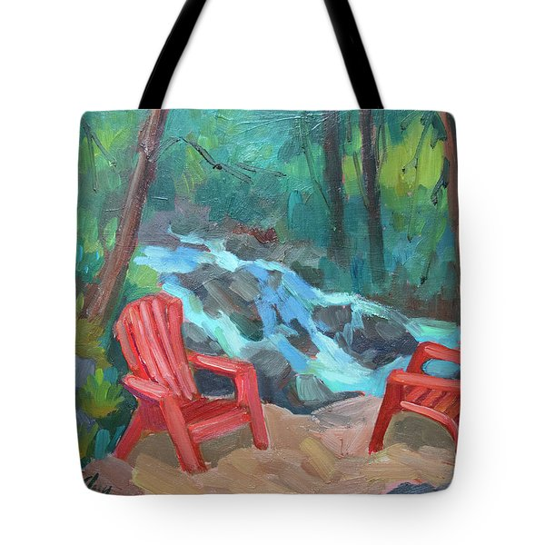 Strawberry Creek Idyllwild Tote Bag