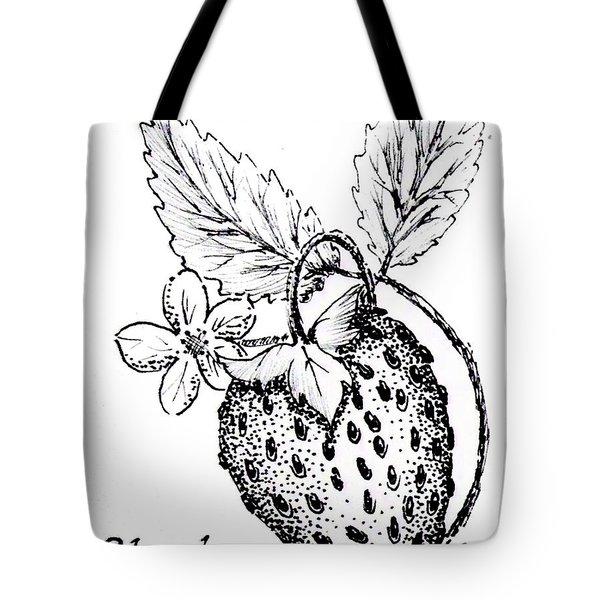 Strawberry Dreams Tote Bag