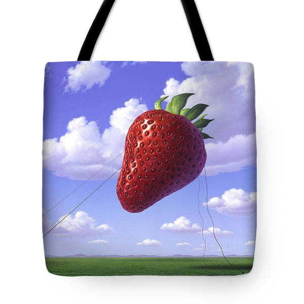 Strawberry Field Tote Bag