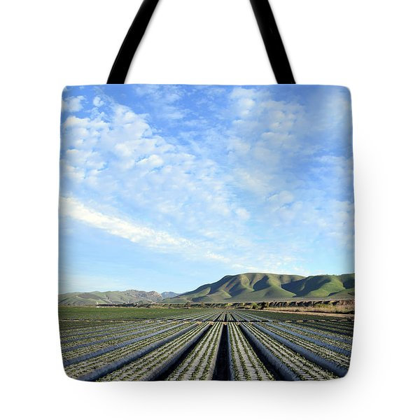 Tote Bag featuring the photograph Strawberry Fields Forever 2 by Floyd Snyder