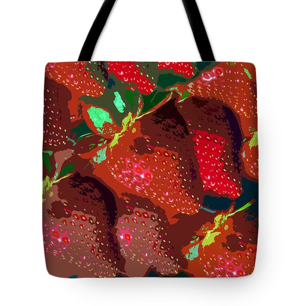 Strawberry Fields Forever Tote Bag by David Lee Thompson