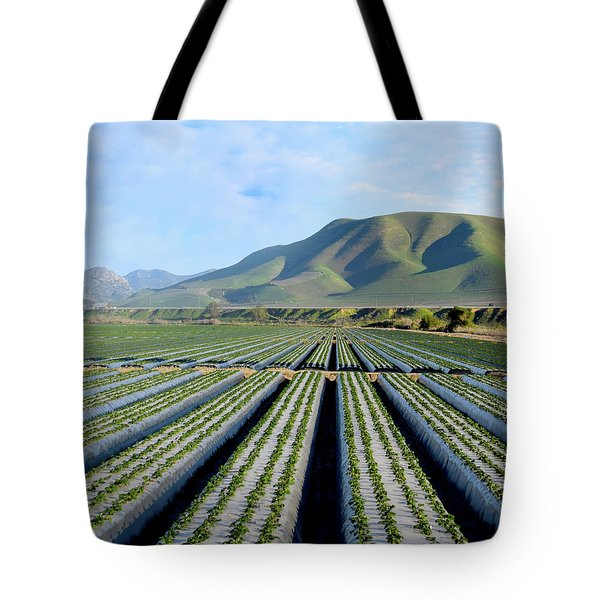 Tote Bag featuring the photograph Strawberry Fields Forever by Floyd Snyder