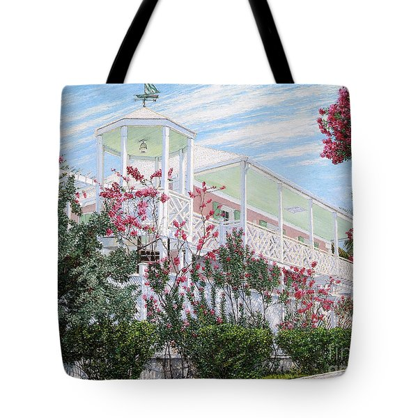 Strawberry House Tote Bag