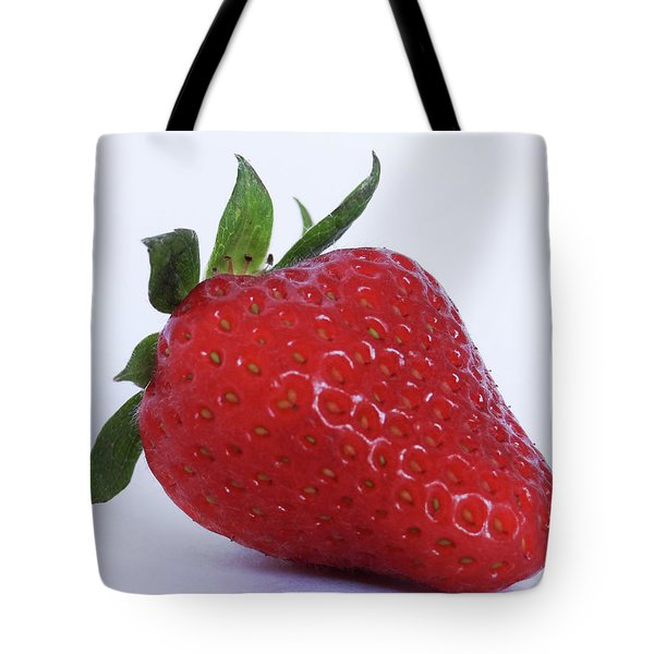 Strawberry Tote Bag by Julia Wilcox