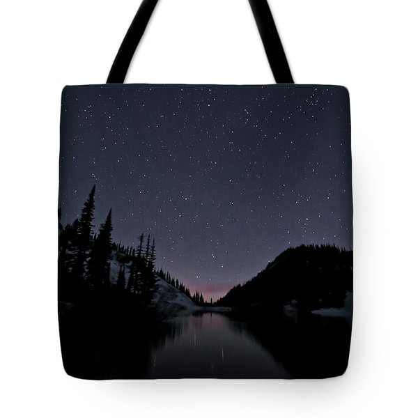 Strawberry Lake Tote Bag