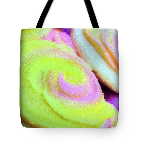 Tote Bag featuring the photograph Strawberry Lemonade Cookies by JC Findley
