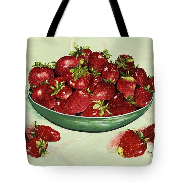 Strawberry Memories Tote Bag