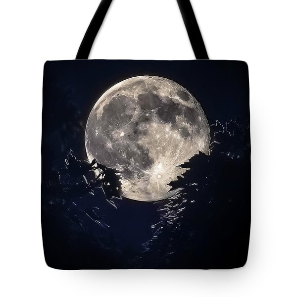Strawberry Moon Tote Bag