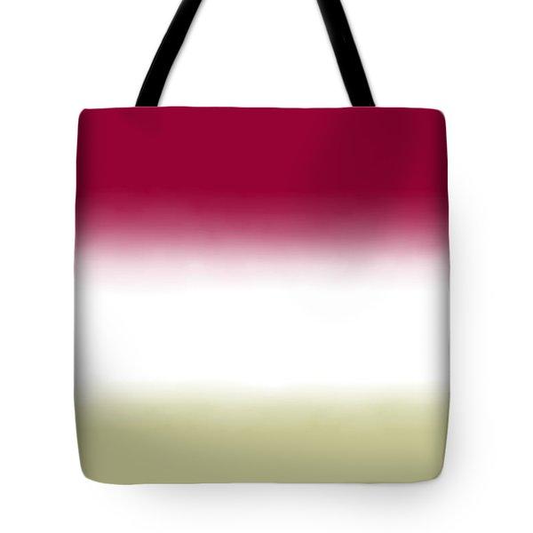 Strawberry - R Block Tote Bag