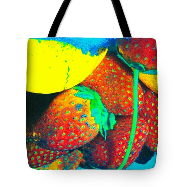 Strawberry Sun  Tote Bag