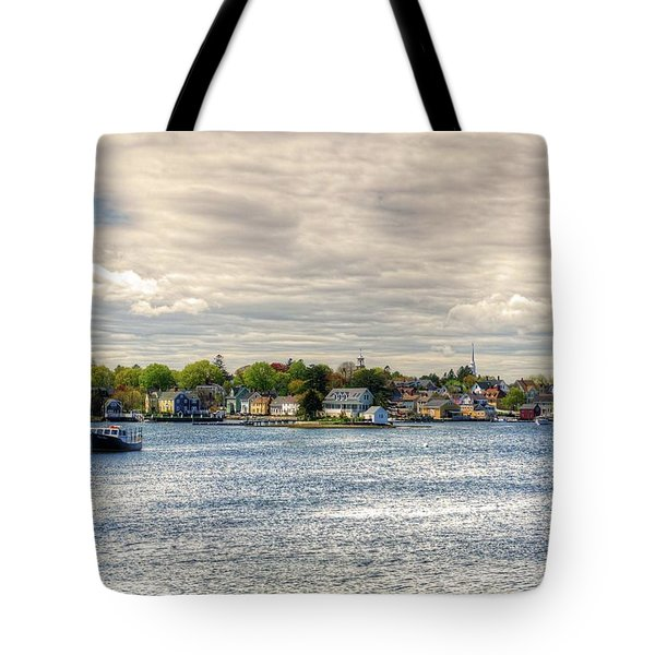 Tote Bag featuring the photograph Strawbery Banke by Wayne Marshall Chase