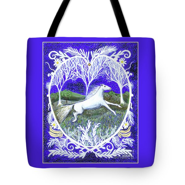 Tote Bag featuring the painting Streak by Lise Winne