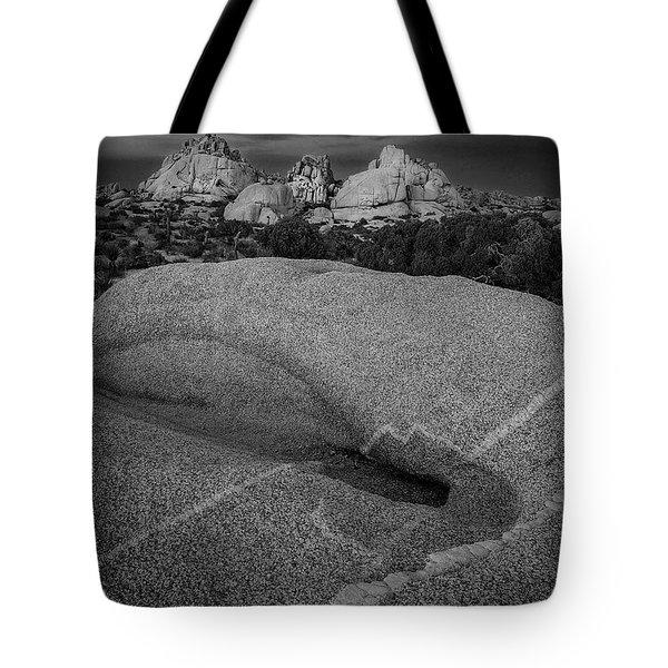 Streaks In Rock Tote Bag
