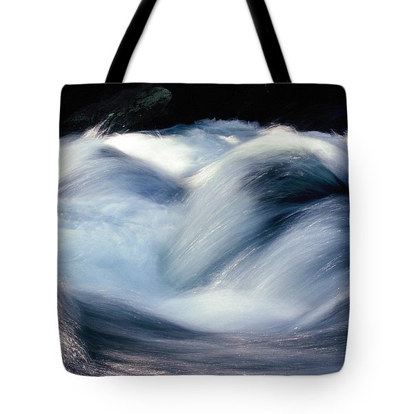 Tote Bag featuring the photograph Stream 1 by Dubi Roman