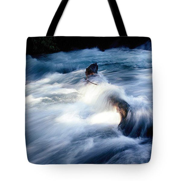 Tote Bag featuring the photograph Stream 2 by Dubi Roman