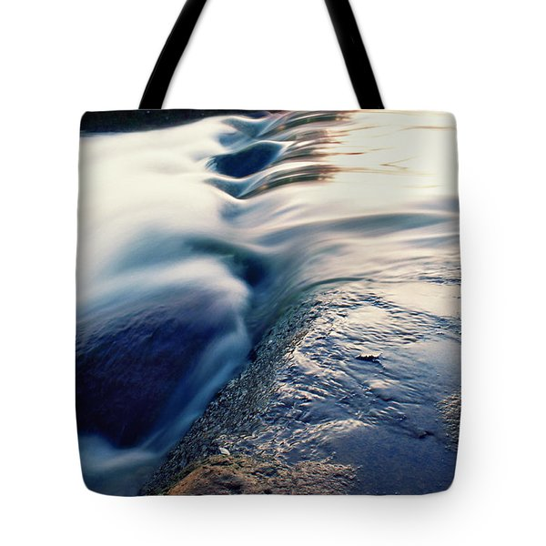 Tote Bag featuring the photograph Stream 4 by Dubi Roman