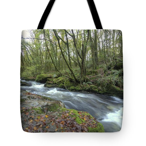Stream In The Wood Tote Bag