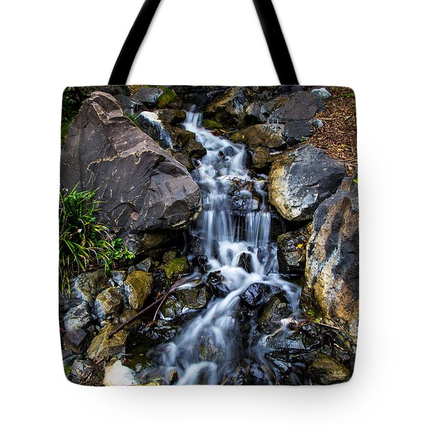 Tote Bag featuring the photograph Stream by Keith Hawley