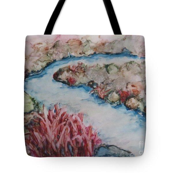 Stream Of Dreams Tote Bag