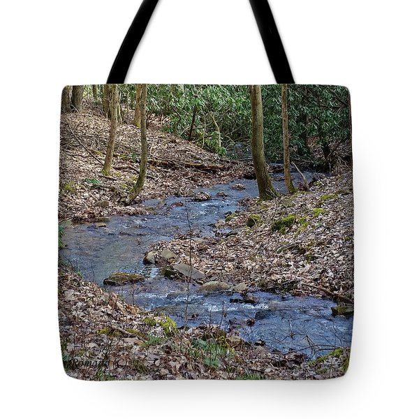 Stream Up The Hollow Tote Bag
