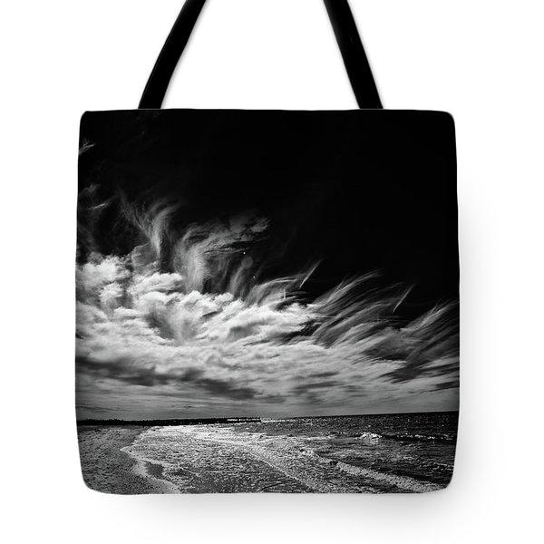 Streaming Clouds Tote Bag