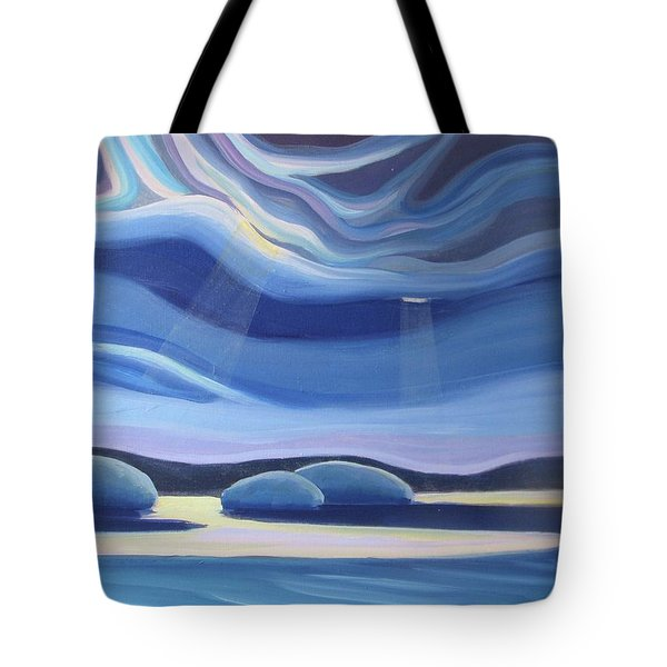 Streaming Light II Tote Bag