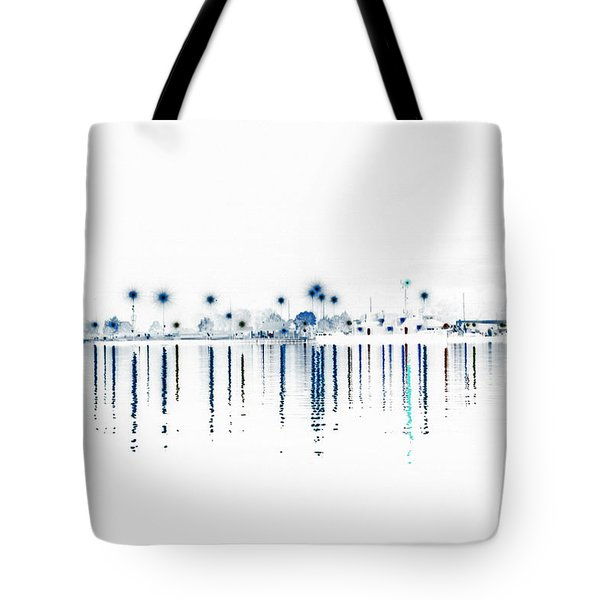 Streaming Lights Tote Bag