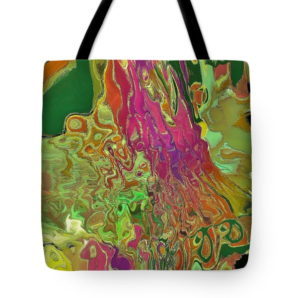 Streaming Saree Tote Bag by Alika Kumar
