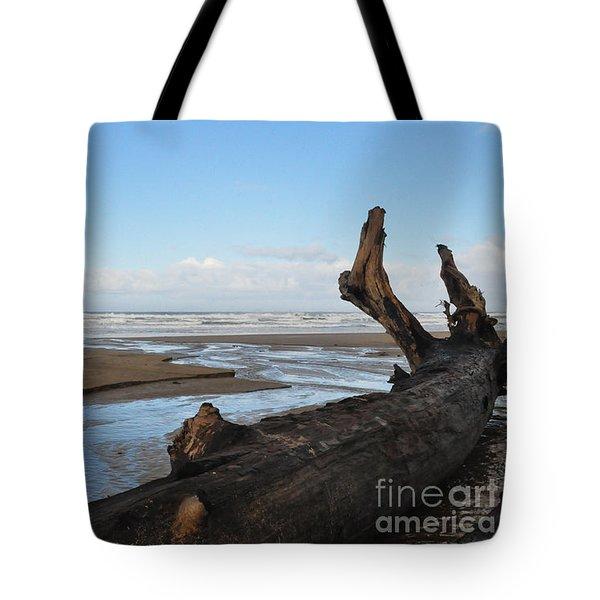 Streams To Sea Tote Bag