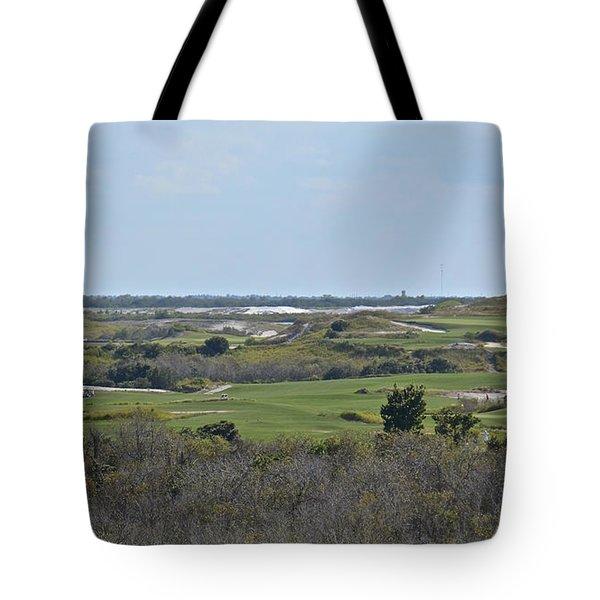 Streamsong Golf Course Tote Bag by Carol  Bradley