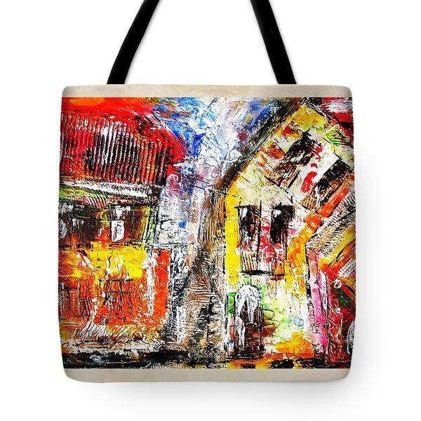 Street 3970 Tote Bag