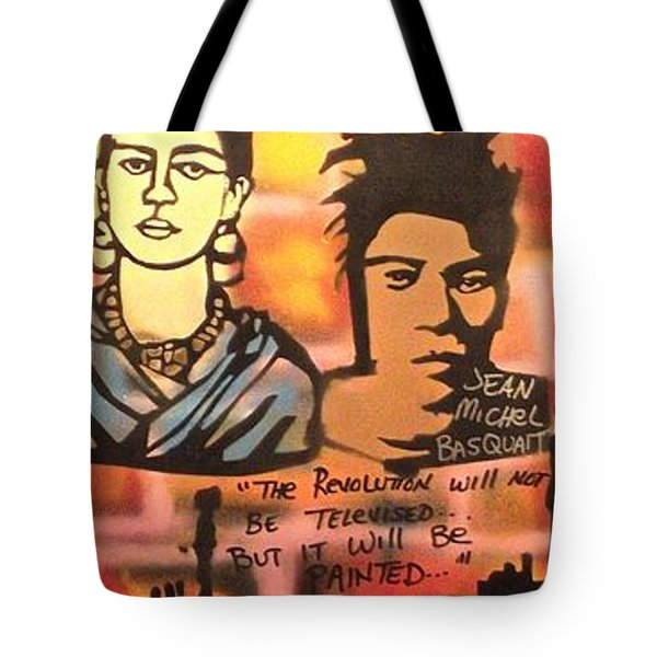 Street Art Lives Tote Bag by Tony B Conscious