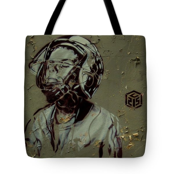 Tote Bag featuring the painting Street Art by Sheila Mcdonald