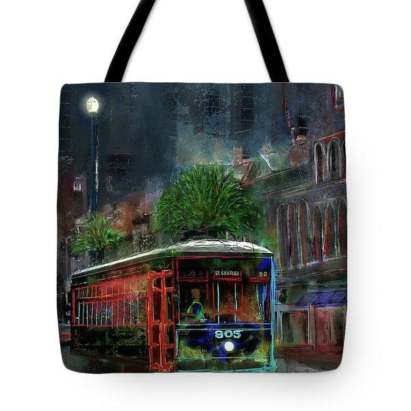 Street Car 905 Tote Bag