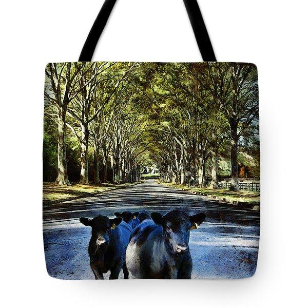 Street Cows Tote Bag