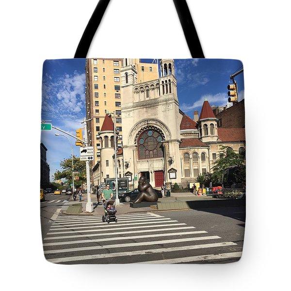 Street Crossing Tote Bag