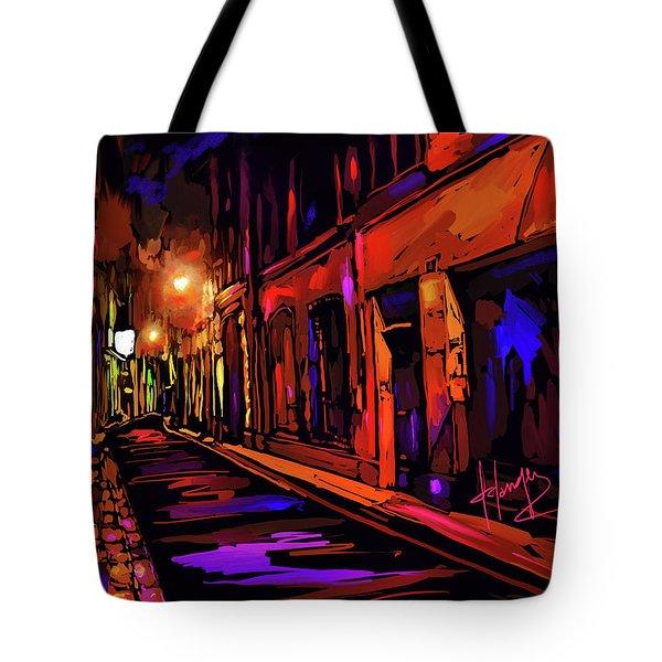 Street In Avignon, France Tote Bag