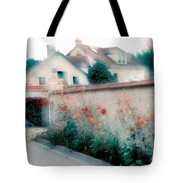 Street In Giverny, France Tote Bag