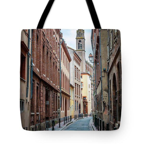 Tote Bag featuring the photograph Street In Toulouse by Elena Elisseeva