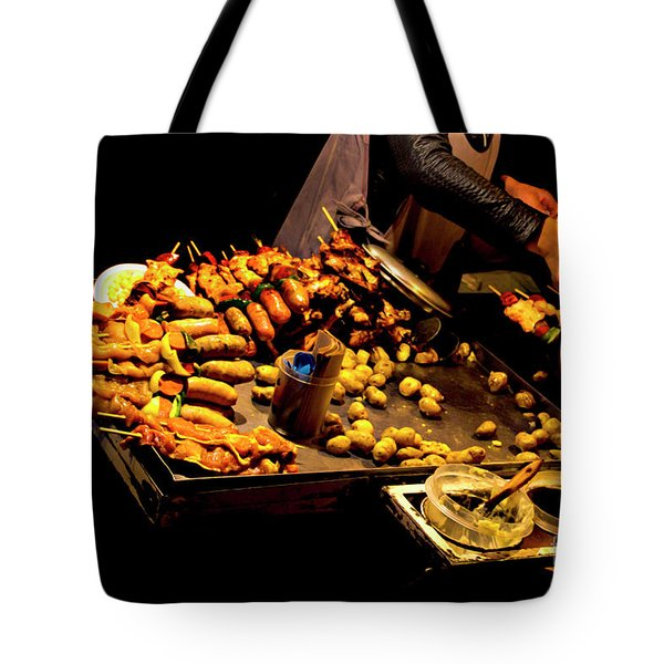Tote Bag featuring the photograph Street Meat by Al Bourassa