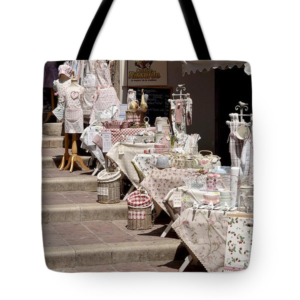 Tote Bag featuring the digital art Street Of Nice by Leo Symon
