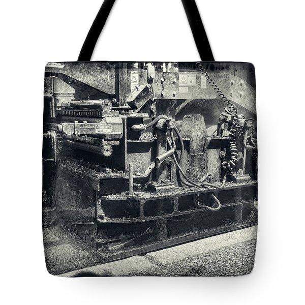 Street Paver Tote Bag