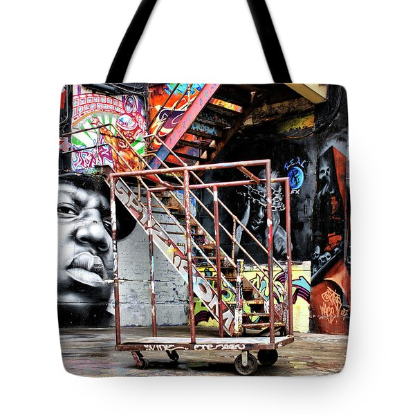 Street Portraiture Tote Bag